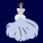 Cinderella pattern template