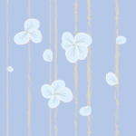 Lonely flower wall